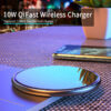 Wireless Charger 15W/10W Qi for Phone Headphone