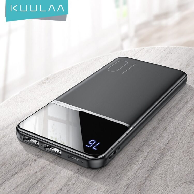 KUULAA power bank 10000mah portable charging poverbank For Xiaomi Redmi 8 7 iphone 11 X XR powerbank 10000 mah external battery