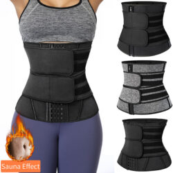 Waist Trainer Neoprene Body Shaper Women Slimming Sheath Belly Reducing Shaper Tummy Sweat Shapewear Workout Trimmer Belt Corset